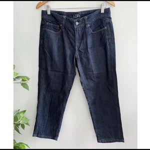 Ann Taylor Loft Women's Size 28 Curvy Crop Jeans